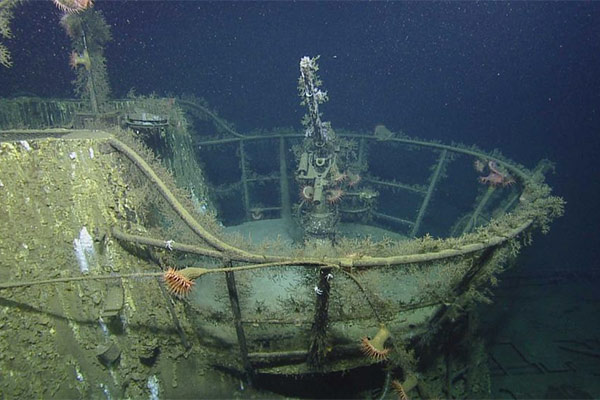 German U-Boat in Gulf of Mexico